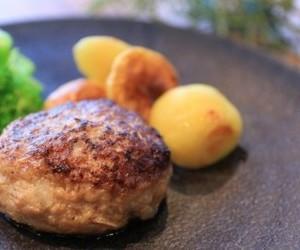 イベリコ豚とおいも豚の64ハンバーグ10個セット[冷凍・送料無料]